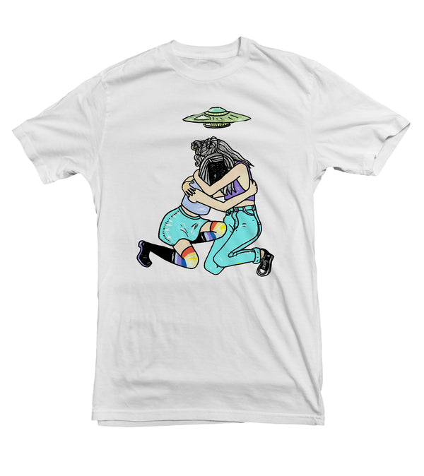 Kozmic Abduction - Women's Cotton Tee