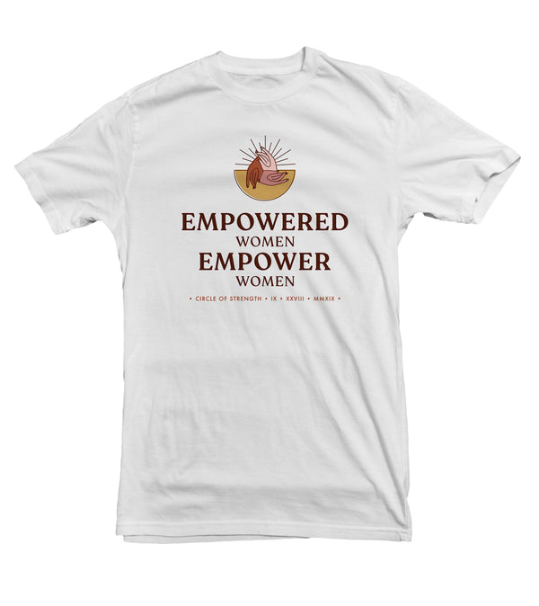 Empowered Women Empower Women TeeTees|Wearable Therapy|Tokii|Fashion|Women's Clothing|Men's Clothing|Stand Up|Speak Up|Mental Health|Awearness|Stop the Stigma