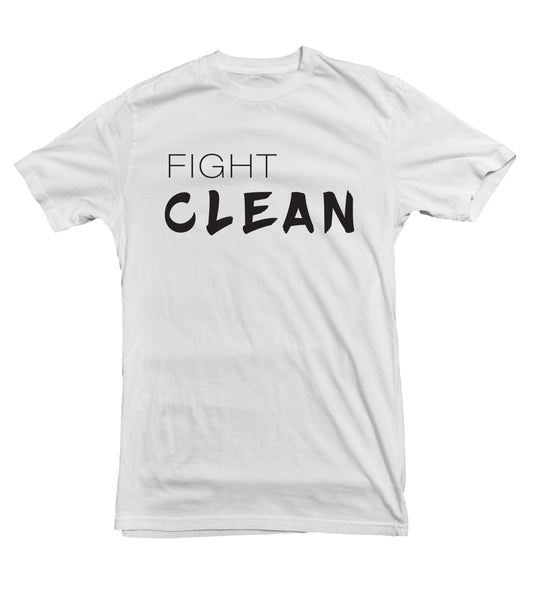 Fight Clean TeeTees|Wearable Therapy|Tokii|Fashion|Women's Clothing|Men's Clothing|Stand Up|Speak Up|Mental Health|Awearness|Stop the Stigma