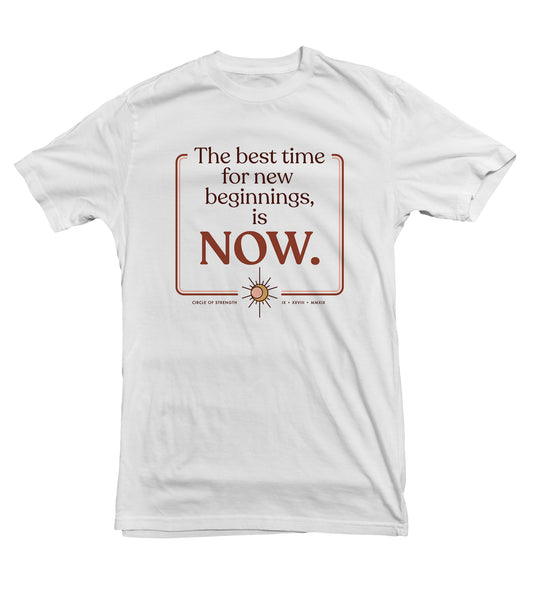 The Best Time TeeTees|Wearable Therapy|Tokii|Fashion|Women's Clothing|Men's Clothing|Stand Up|Speak Up|Mental Health|Awearness|Stop the Stigma