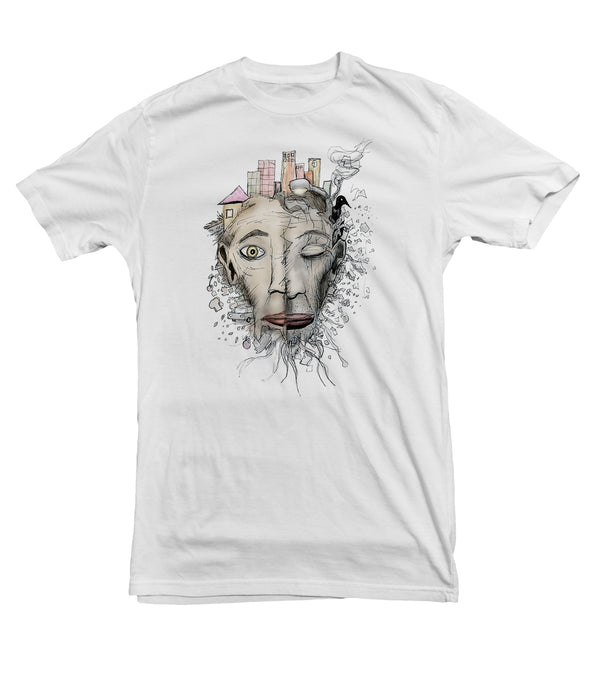 The Face of Homelessness TeeTees|Wearable Therapy|Tokii|Fashion|Women's Clothing|Men's Clothing|Stand Up|Speak Up|Mental Health|Awearness|Stop the Stigma