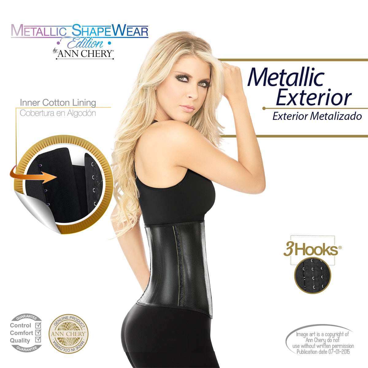 1bcdd92160 Ann Chery Official Site - Woman Waist Trainer 2045 Metallic Edition ...