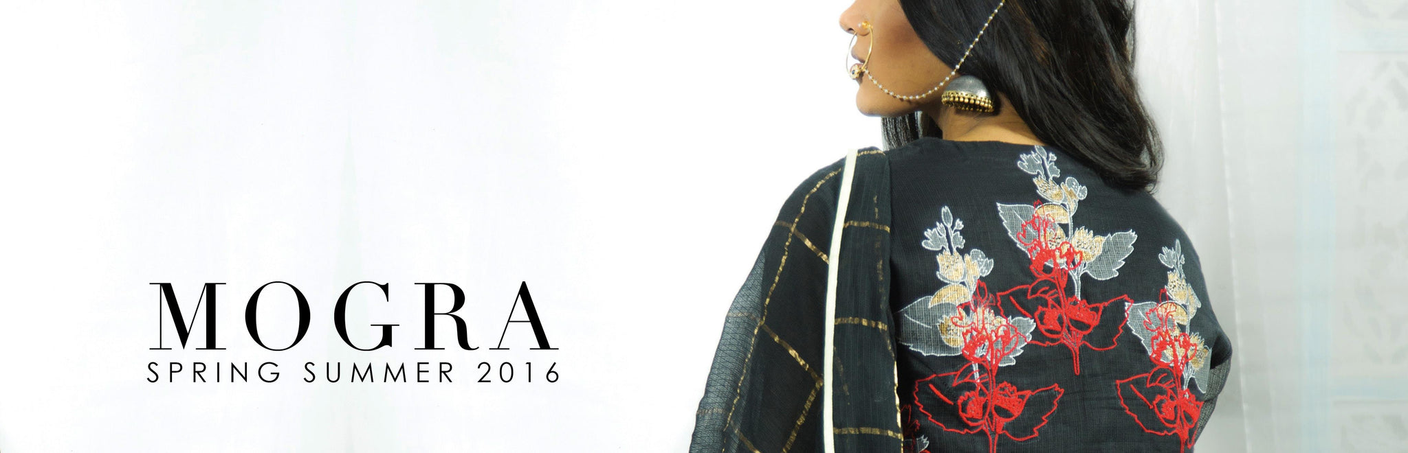 Devnaagri Mogra Collection Spring Summer 16