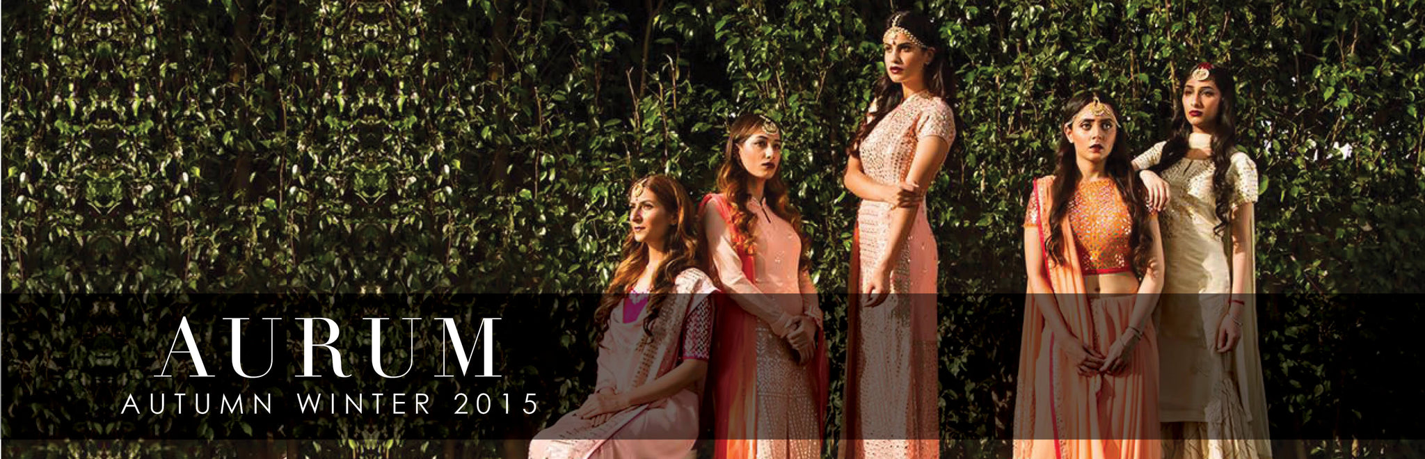 Shop Devnaagri Aurum Collection Autumn Winter 15