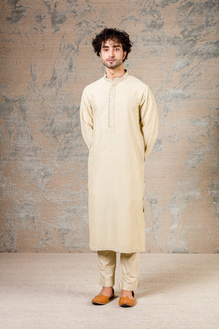 Pista Green Diamond Pin Tuck Kurta Set
