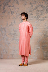 Rose Pink Kurta Set