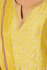 Yellow Kurta Set