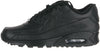 Nike Air max '90 leather men's sneakers black (302519-001)