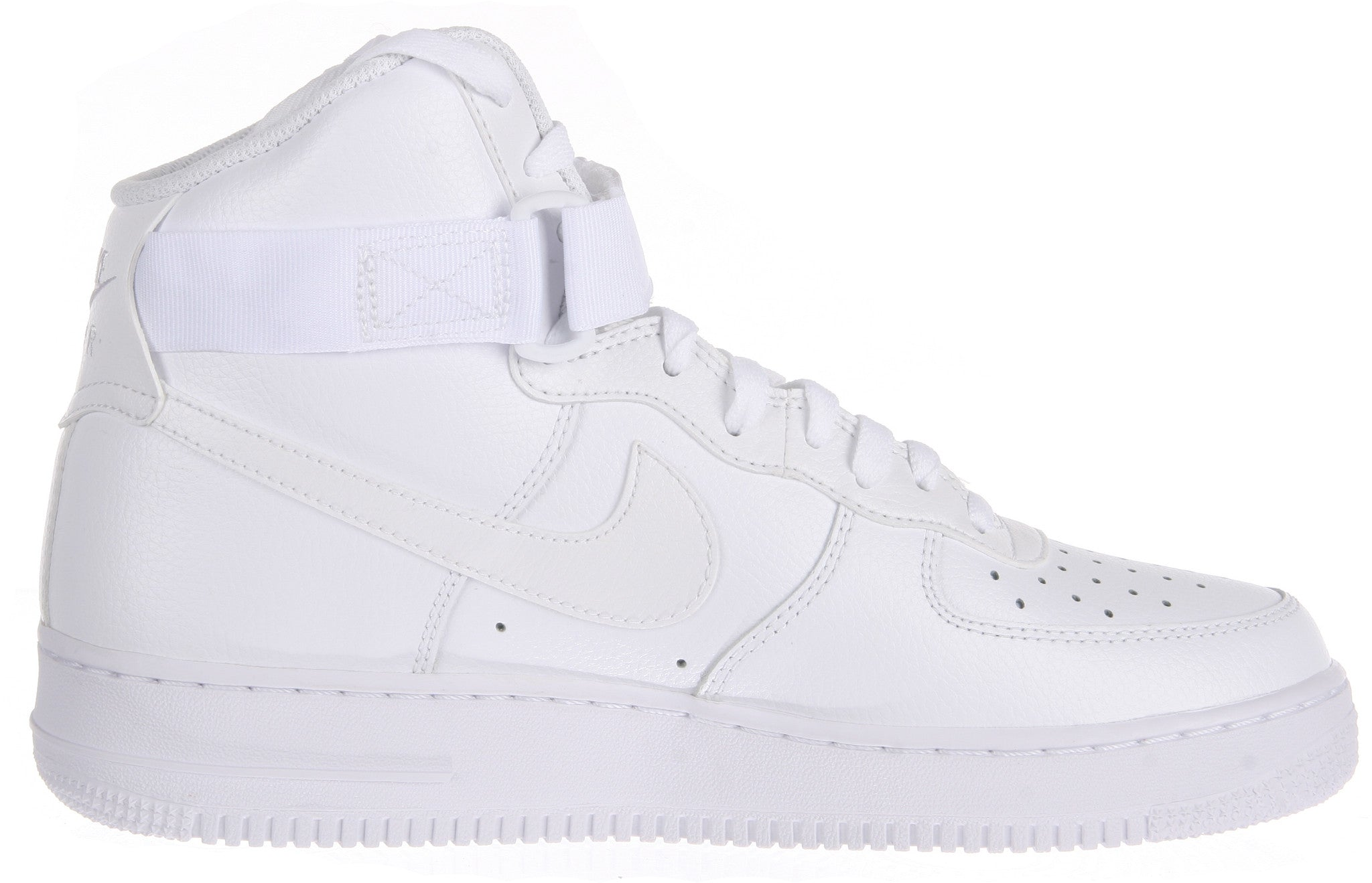 sneakers for cheap f833c 534ce NIKE AIR FORCE 1 HIGH  07 Mens Sneakers White White 315121-115 – Premium  Laces NY
