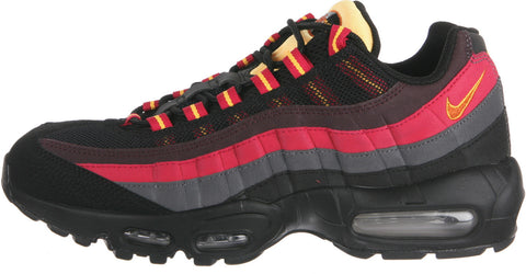 Nike Air Max 95 Men's Sneakers In Black/Tuscan Rust-Laser Orange (609048-083)