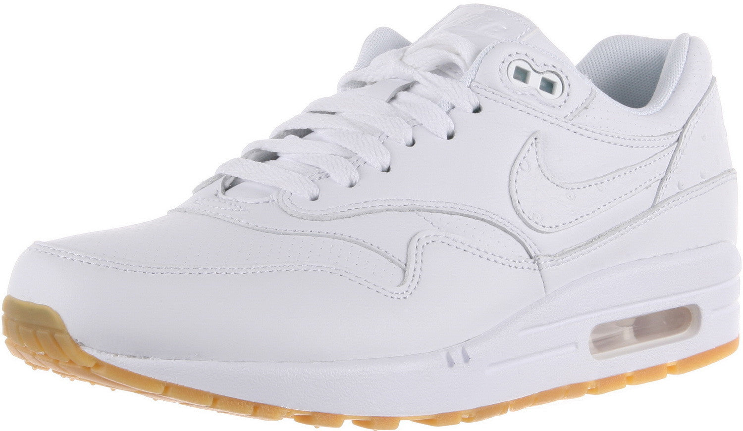 46e9a1729add NIKE AIR MAX 1 LEATHER PA Mens Sneakers 705007-111 – Premium Laces NY