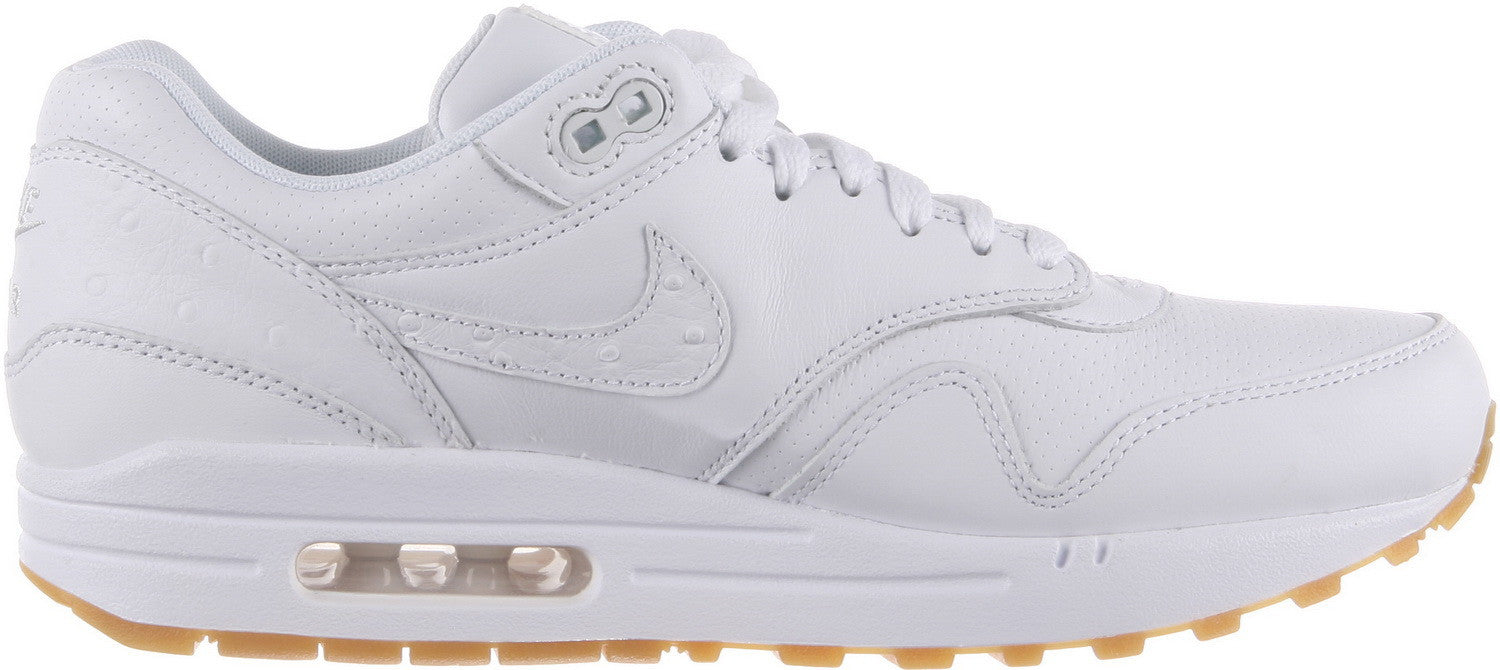 nike air max 1 white leather pa