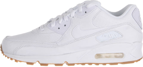 NIKE Mens AIR MAX 90 LEATHER PA Sneakers 705012-111