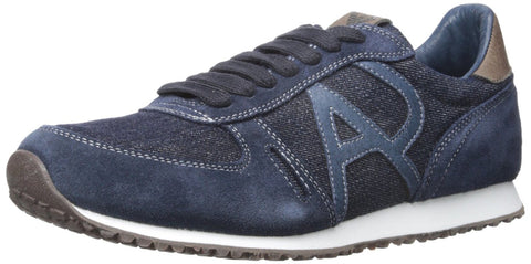 Armani Jeans Men's Denim Sneaker Fashion Sneaker CM524-44-15