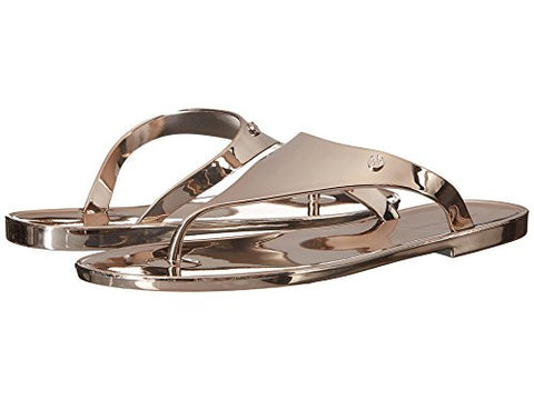 Armani Jeans Laminated Rubber Sandal Copper Women's Sandals CW5G9-31-8A