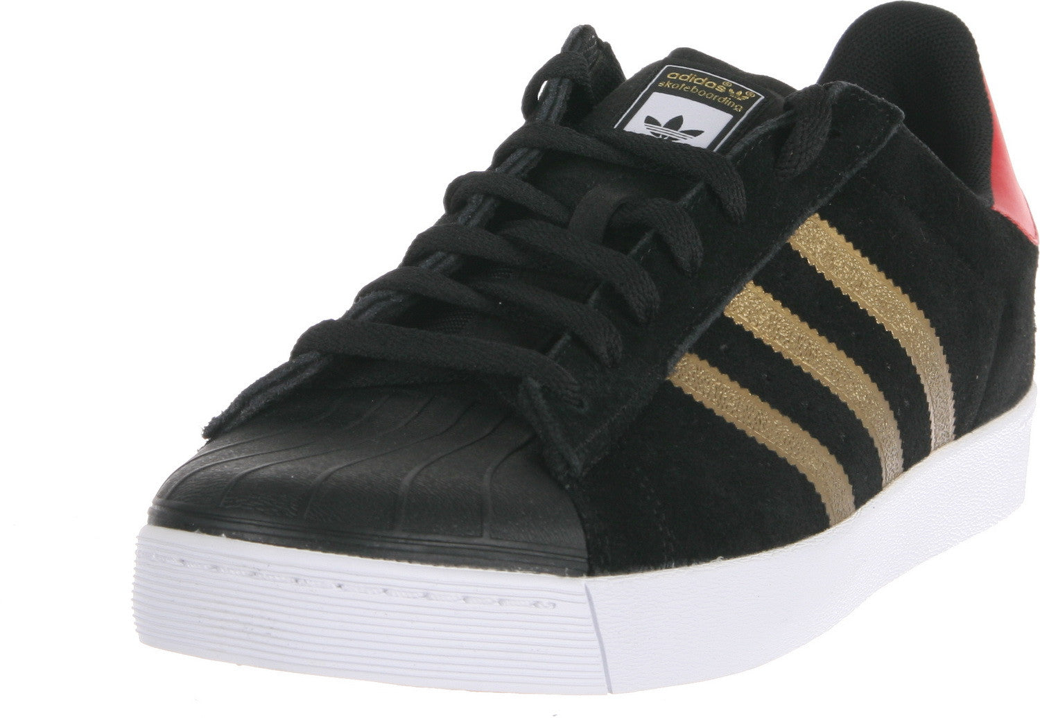 Adidas Men's Superstar Vulc Adv Ankle High Suede Fashion Sneaker