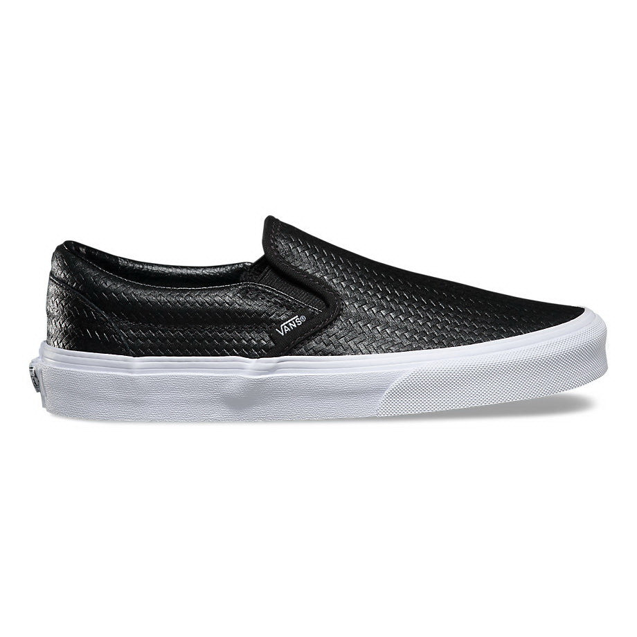 d02a4df2a9 Vans EMBOSSED WEAVE U CLASSIC SLIP-ON Mens Sneakers VN-03Z4IDS – Premium  Laces NY