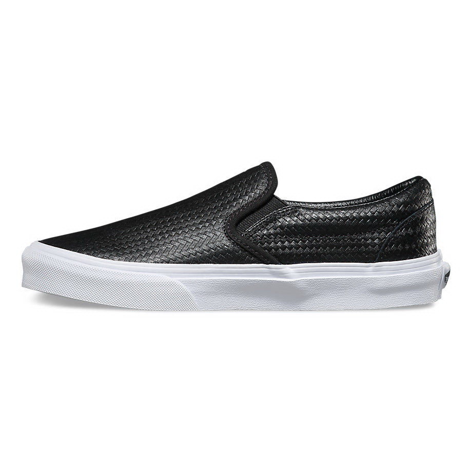 2dad98429c ... Vans EMBOSSED WEAVE U CLASSIC SLIP-ON Mens Sneakers VN-03Z4IDS ...