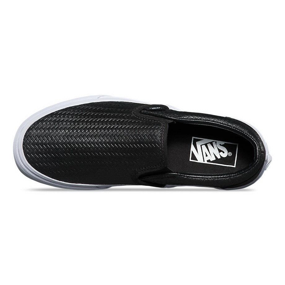 d795424c08 ... Vans EMBOSSED WEAVE U CLASSIC SLIP-ON Mens Sneakers VN-03Z4IDS ...
