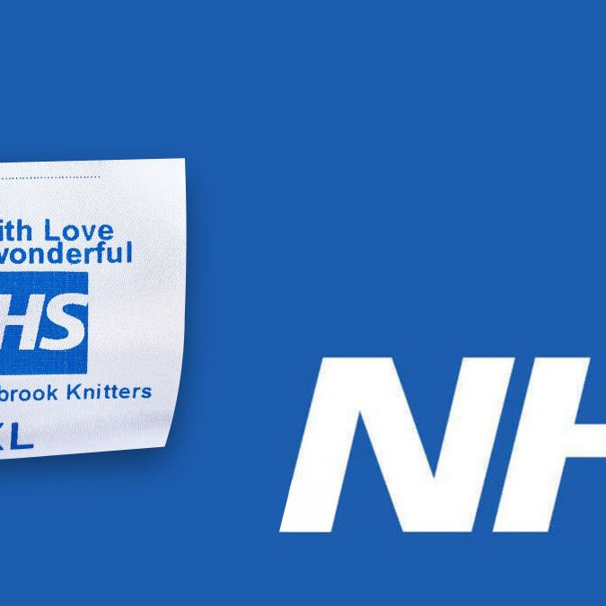 Free Garment Labels for NHS Scrubs!