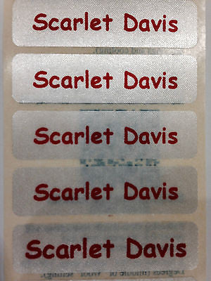Iron-On Name Tapes with Colour Print