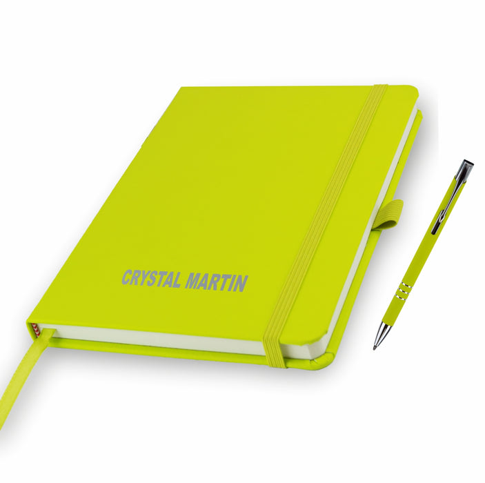 Personalised Notebooks and matching Pen