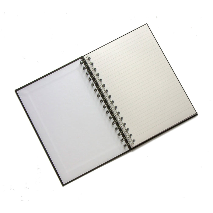 Personalised Wire Bound Note Books - Style K