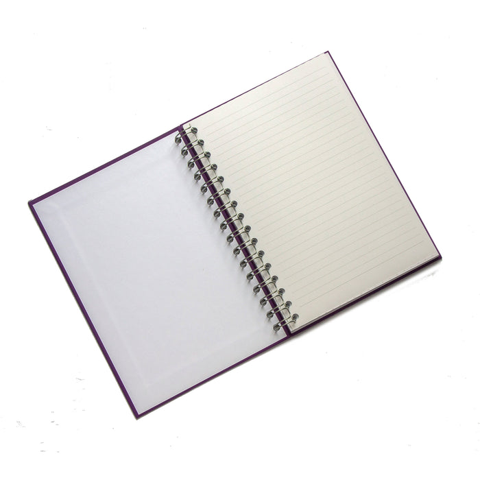 Personalised Wire Bound Note Books - Style D