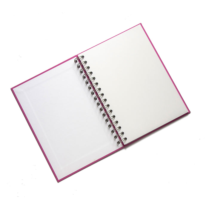 Personalised Wire Bound Note Books - Style B