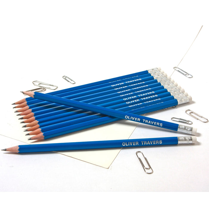 HB Graphite Pencils Printed with Name