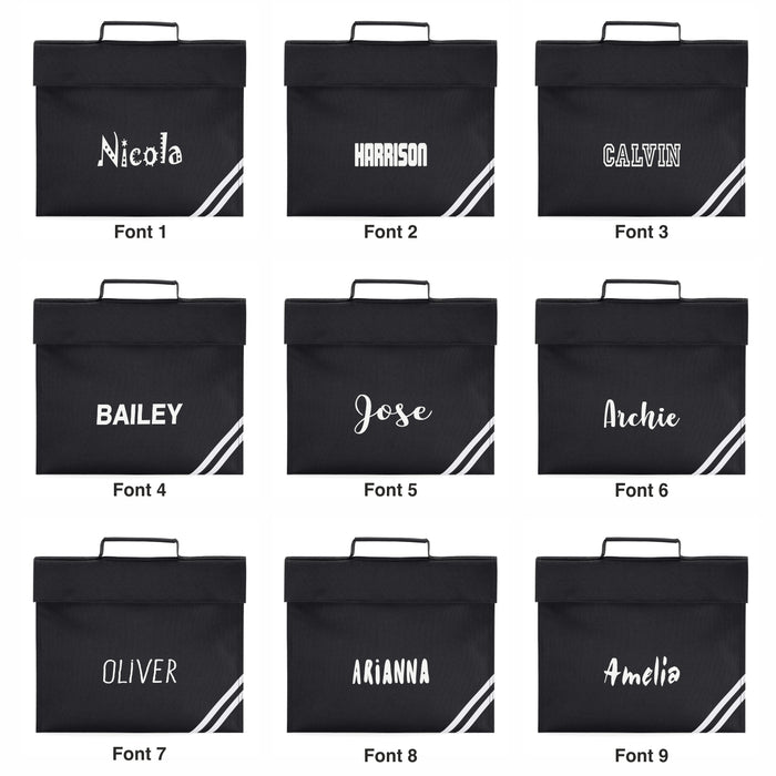 Bookbag Printed with Name