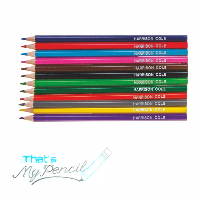 Embossed Colouring Pencils - FREE WHEN YOU SPEND £20