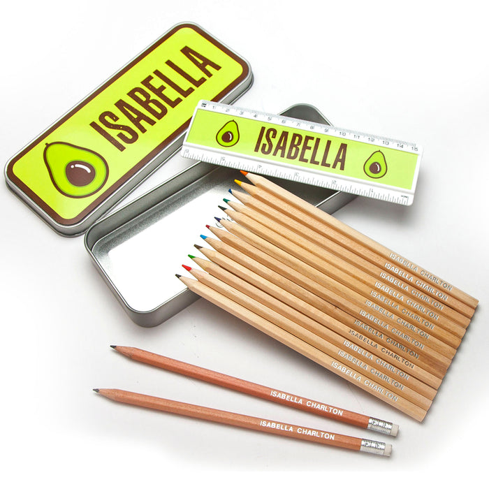Personalised Tin Set - Prefect Design