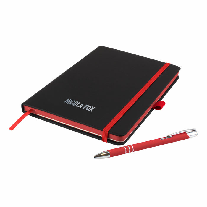 'The Edge' Notebook and Matching Pen and Pencils
