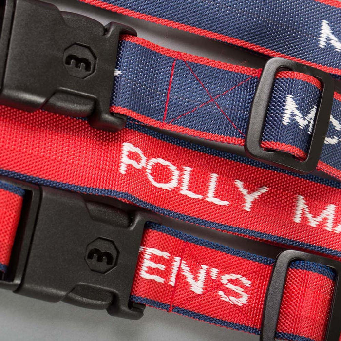 Personalised Woven Luggage Straps