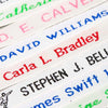 Woven Name Tapes/Labels for School Uniform