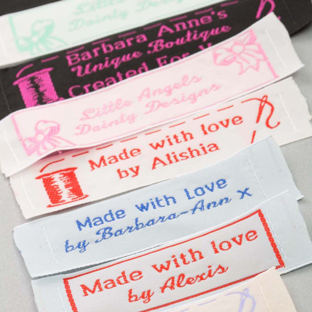 Craft & Hobby Garment Labels One Inch