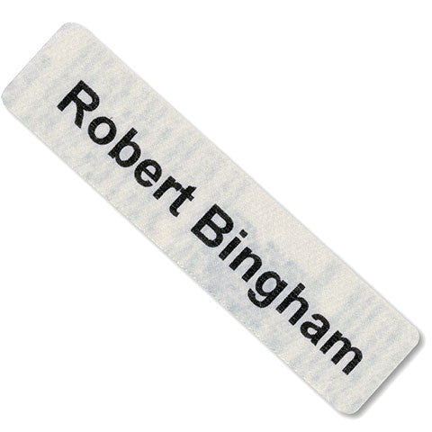 Large I.D. Tapes Pre-Cut Iron-On Name Tapes