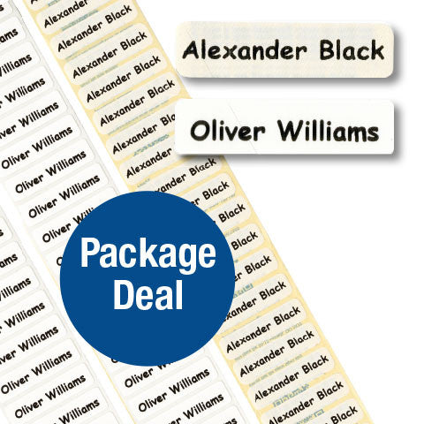 Nametape Package Deals