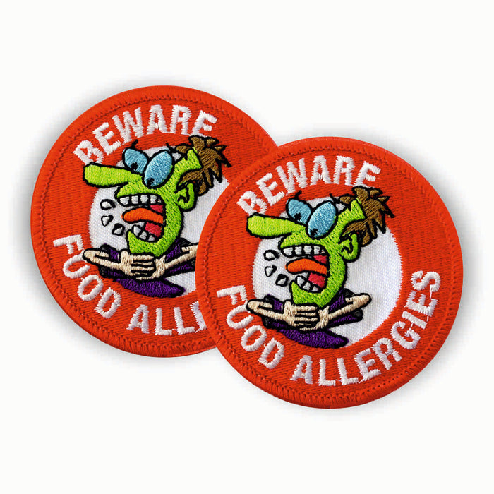 Food Allergy Sew-on Patch/Badges
