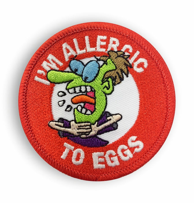 Al's Allergy Alert Patches, Pin Badges & Stickers