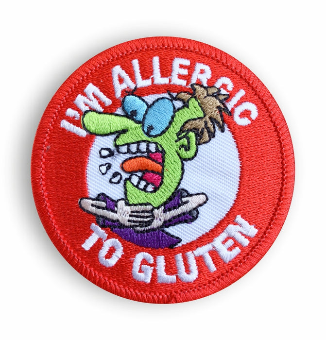 Gluten Allergy Sew-on Patch/Badges