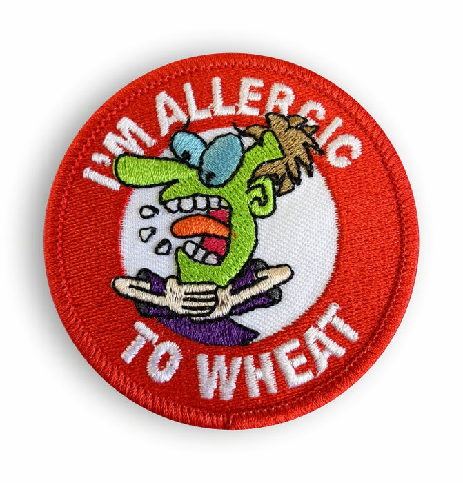 Wheat Allergy Sew-on Patch/Badges