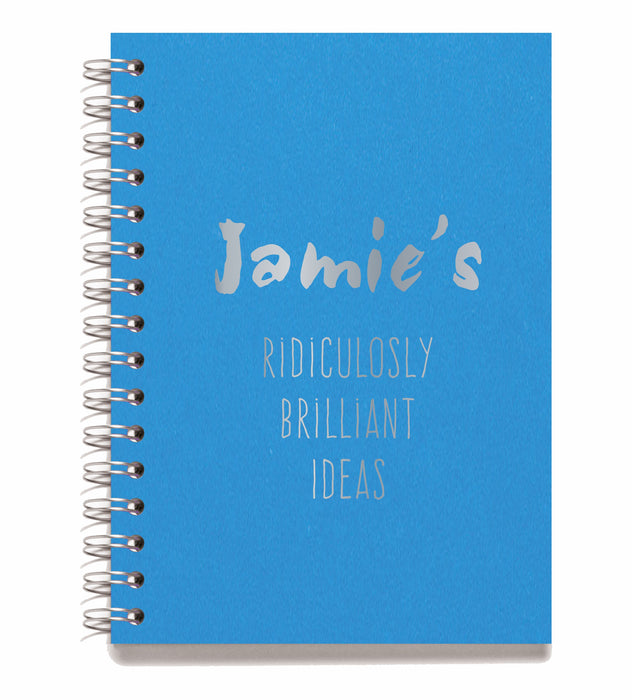 Personalised Wire Bound Note Books - Style i