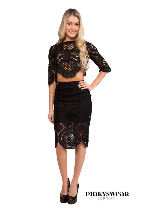Claudia Two Piece - Black