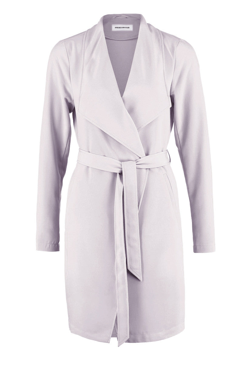 Kendall Coat - lavender grey