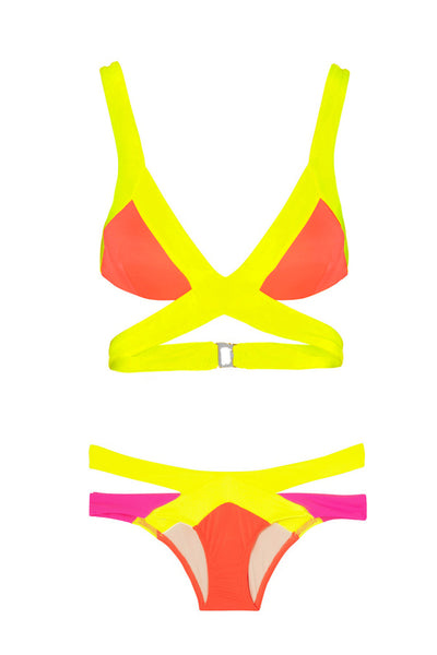 St. Tropez Bikini Set - Orange