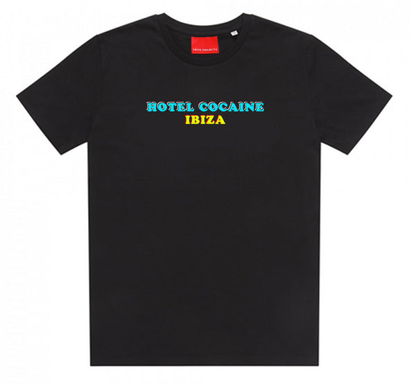 Hotel Cocaine Ibiza Black T-Shirt