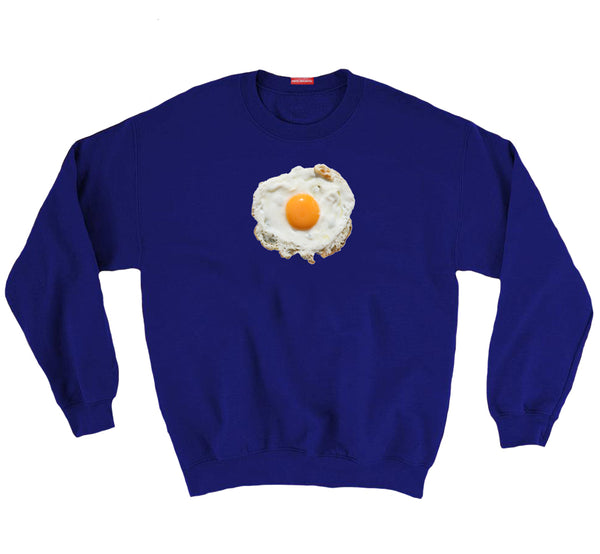 Blue Huevo Frito Sweater