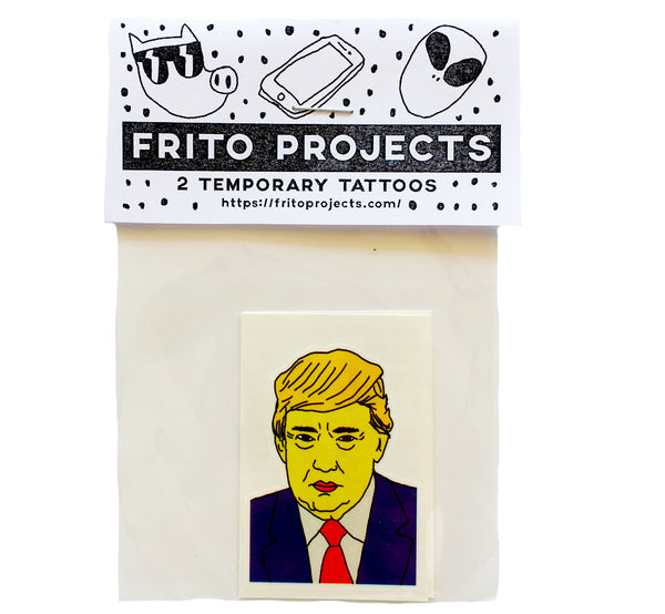 Donald Trump Temporary Tattoo